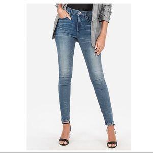 Express Denim Skinny Jeans, size 6